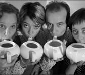 Sarah Blard Band members L to R: Kate Neal, Karen Berger, David Adamson and Jeannie Van de Velde