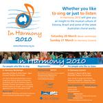 In Harmony concert