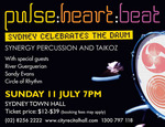 pulse: heart: beat : Sydney Celebrates the Drum