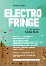 Electrofringe 2010 : festival of electronic arts and culture