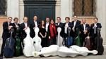 12 cellists of the Berlin Philharmonic Orchestra