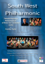 South West Philharmonic world premiere concert season