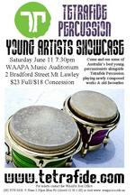 Tetrafide Percussion Young Artists Showcase