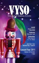 VYSO Concert 4, 2011  : Lenthall, Tchaikovsky & Rachmaninov