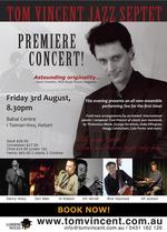 Tom Vincent Jazz Septet Premiere Concert