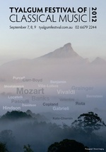 Tyalgum Festival of Classical Music 2012 : Horizons, Old and New
