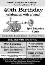 Strathfield Symphony : 40th Birthday Extravaganza!