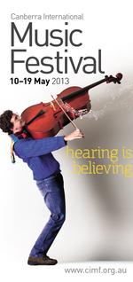 Lifting the Spirit : Canberra International Music Festival