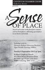 A Sense of Place - Canticum Chamber Choir