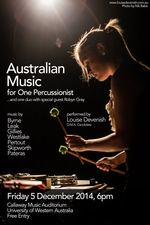 Australian Music for One Percussionist