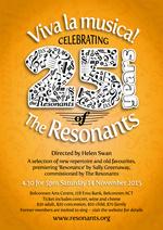 Viva la musica! : Celebrating 25 years of the Resonants
