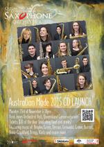 Queensland Conservatorium Saxophone Orchestra CD Launch