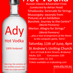 Hot Vodka: Russian classics & Australian firsts