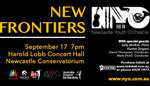 Newcastle Youth Orchestra: New Frontiers
