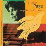 Louise Page sings Richard Strauss