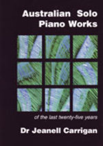 Australian post-1970 solo piano works