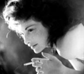 Experimental filmmaker Maya Deren (1917-1961)