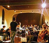 The Melbourne Metropolitan Sinfonietta in rehearsal