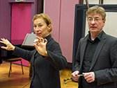 Cathy Milliken and Dietmar Wiesner