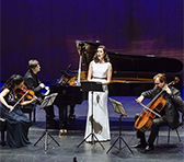 Stanhope's <em>Three Lorca Songs</em> in Townsville: Valda Wilson (soprano), Indira Koch (violin), Wolfgang-Emanuel Schmidt (cello), Timothy Young (piano)