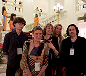 Stephen Lebsanft, Eve Duncan, Johanna Selleck, Natalya Vagner and Andrián Pertout in Vietnam
