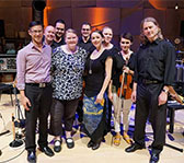 2015 winner Sally Greenaway with Syzygy Ensemble