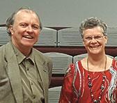 ICI mentor Kevin Hunt with Elizabeth Sheppard