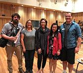 Thomas Green, Jessica Wells, Alondra de la Parra, Heidi Chan and Mark Wolf