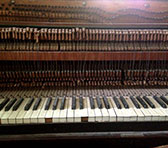 Cramer piano owned by WA-based composer and sound artist Ross Bolleter