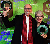 Bruce & Jocelyn Wolfe, awarded for the Piano Mill project (together with Clocked Out). The standard of nominations for the Excellence for Experimental Music category in 2017 was impressive.
