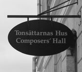 Composers' Hall in Visby, Gotland