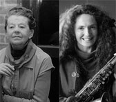 Sandy Evans and Peggy Glanville-Hicks