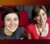 Hannah Reardon-Smith and Janet McKay