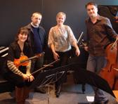 Stuart Greenbaum with the NZ Trio