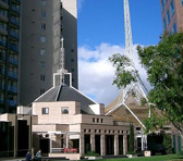 St John's Lutheran Church in Southgate, Melbourne