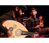 Joseph Tawadros (oud) an James Tawadros (percussion)