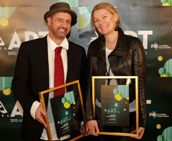 Stephen Mayhew and Sarah Last (The Wired Lab and Country Art SA)