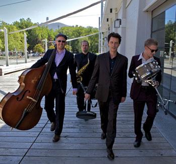Tom Vincent Quartet - Leigh Barker, Danny Healy, Tom Vincent, Alf Jackson.