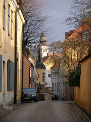a street view from gotland