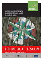 Music of Liza Lim kit - compass on the cover