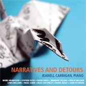 Narratives and detours - cover with an origami bird