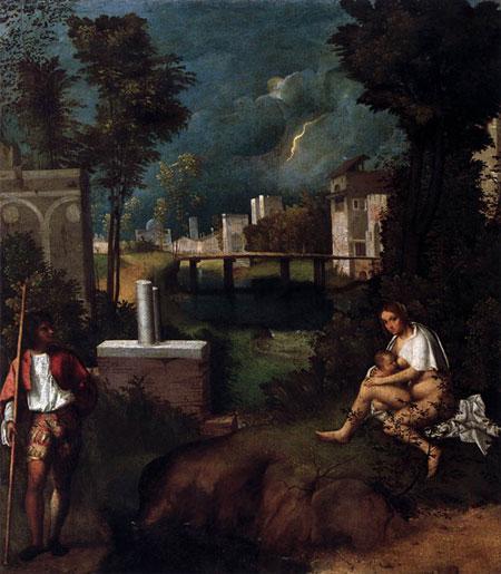 Giorgione's La tempesta