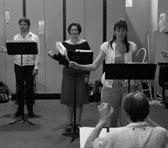 The Song Company rehearsing Claire Nash's work (MODART07)