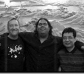 Brenton Broadstock, William Barton and Julian Yu