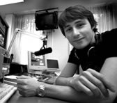 Julian Day, co-producer of ABC Classic FM's New Music Uplate