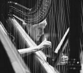 Orchestra Victoria's Principal Harp Mary Anderson
