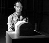 Eugene Ughetti in Aphids's <em>Schallmachine 07</em>, underneath Federation Square, Melbourne