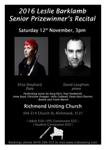 Eliza Shephard (flute) & David Laughton (piano)