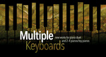 Multiple Keyboards - new works for piano duet & 2-4 pianos/toy pianos