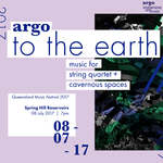Argo: TO THE EARTH : QMF 2017